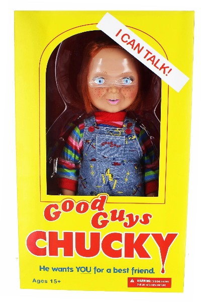 Mezco Child's Play Good Guy Chucky 15 Inch Talking Doll