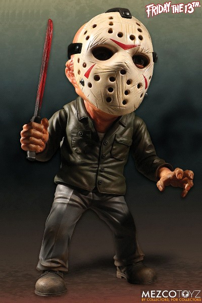 Mezco Friday the 13th Deluxe Stylized Jason 6 Inch Figure