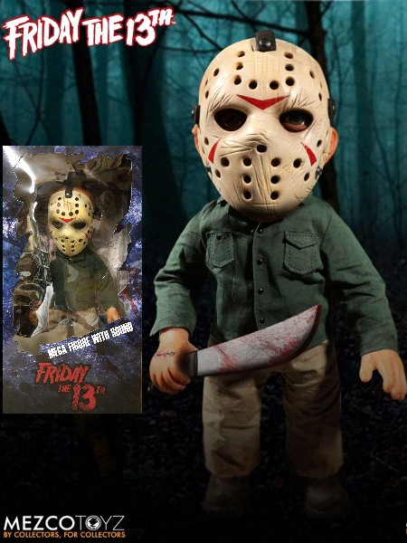 Mezco Friday the 13th Mega Scale Jason with Sound Figure