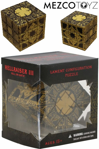 Mezco Hellraiser III Hell on Earth Lament Configuration Puzzle