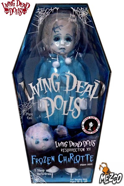 Mezco Living Dead Dolls Resurrection Frozen Charlotte Doll
