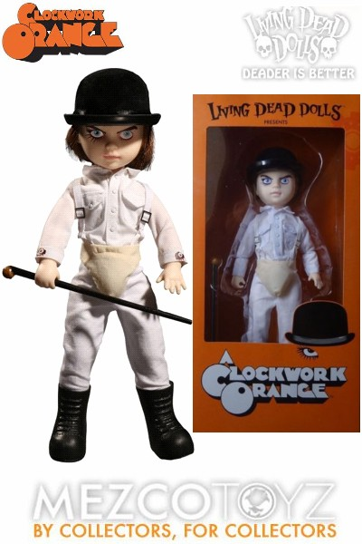 Mezco Living Dead Dolls Presents A Clockwork Orange Doll