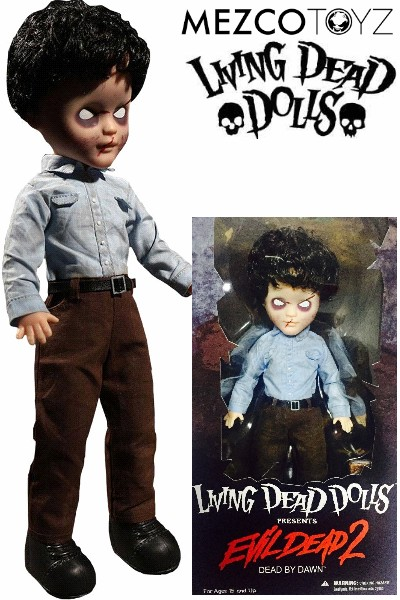 Mezco Living Dead Dolls Presents Evil Dead 2 Deadite Ash Doll