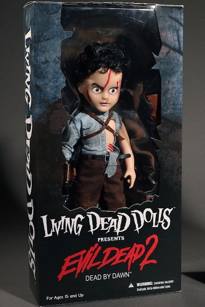 Mezco Living Dead Dolls Presents Evil Dead 2 Ash Doll