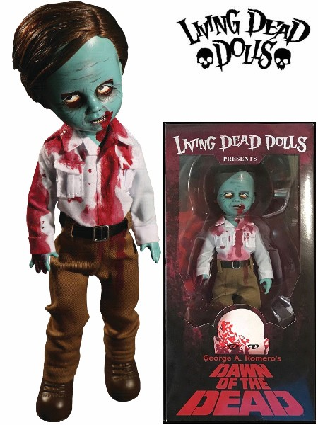 Mezco Living Dead Dolls Dawn of the Dead Flyboy Zombie Doll