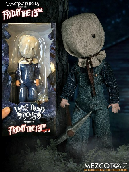 Mezco Living Dead Dolls Presents Friday The 13th II Jason Doll