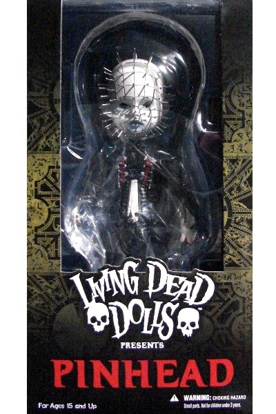 Mezco Living Dead Dolls Presents Hellraiser III Pinhead Doll