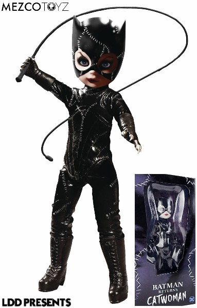 Mezco Living Dead Dolls Presents DC Comics Catwoman Doll