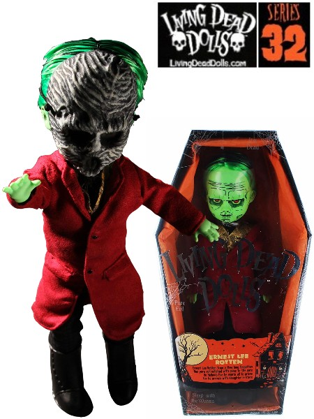 Mezco Living Dead Dolls Series 32 Ernest Lee Rotten Doll