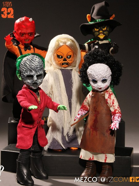 Mezco Living Dead Dolls Series 32 Complete Set of 5 Dolls