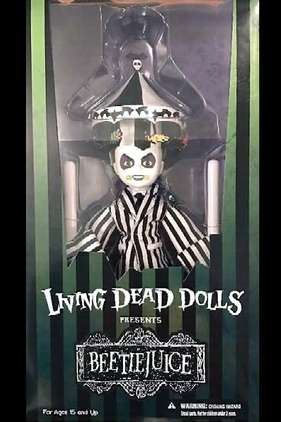 Mezco Living Dead Dolls Presents Showtime Beetlejuice Doll
