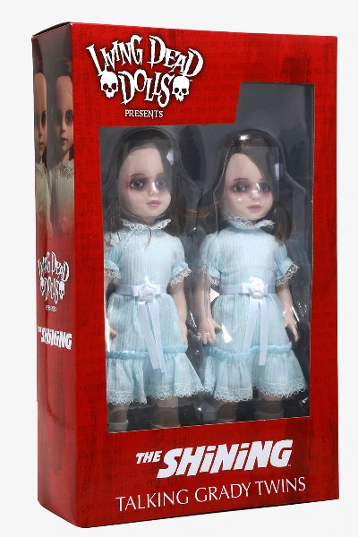 Mezco Living Dead Dolls Presents The Shining Talking Grady Twins