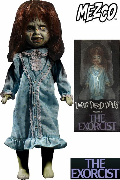 Mezco Living Dead Dolls Presents The Exorcist Reagan Doll