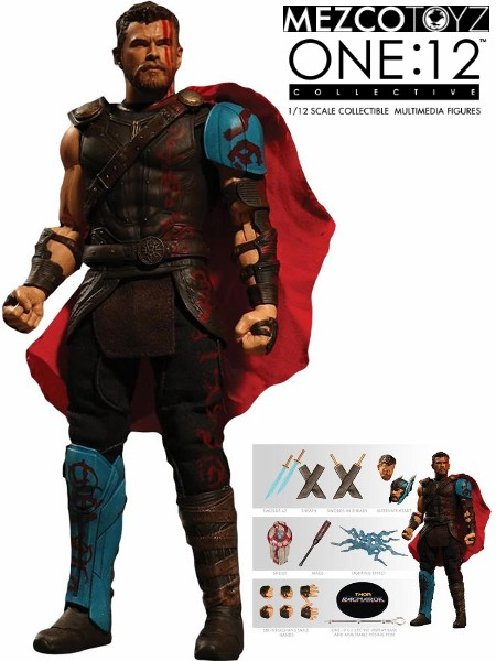 One 12 Collective Marvel Thor Ragnarok Movie Thor Figure