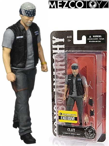 Mezco Sons of Anarchy Clay Morrow Exclusive 6 Inch Figure