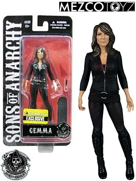 Mezco Sons of Anarchy Gemma Teller Exclusive 6 Inch Figure