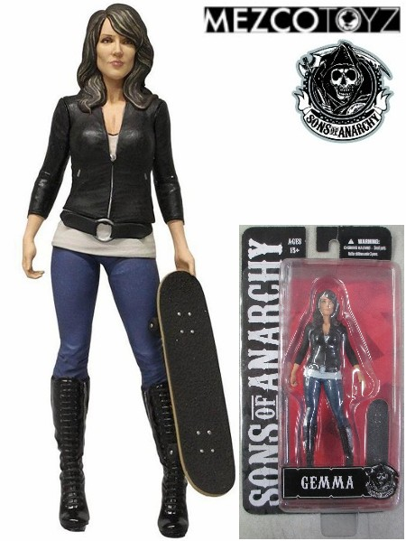 Mezco Sons of Anarchy Gemma Teller 6 Inch Figure