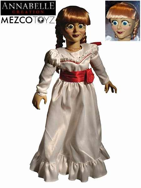Mezco The Conjuring Annabelle Creation Doll Scaled Prop Replica