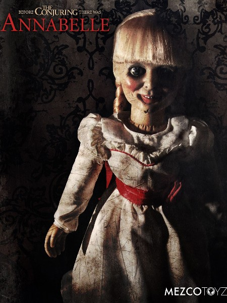 Mezco The Conjuring Annabelle Doll Scaled Prop Replica