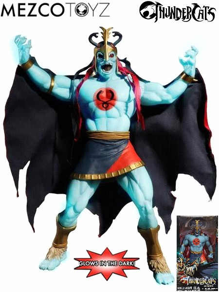 Mezco ThunderCats Mumm-ra Glow in the Dark Mega Scale Figure