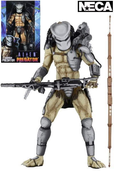 Neca Aliens vs Predator Arcade Warrior Predator Figure