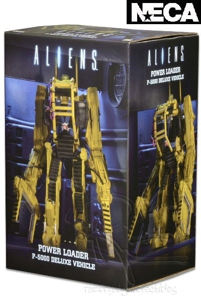 Neca Aliens Power Loader P-5000 11 Inch Tall Deluxe Vehicle