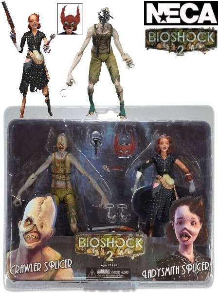 Neca Bioshock 2 Crawler Splicer & Ladysmith Splicer 2 Pack