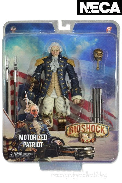 Neca Bioshock Infinite George Washington Patriot Action Figure