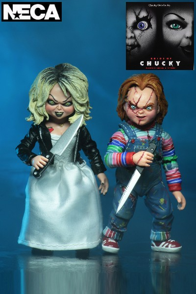 Neca Bride of Chucky Ultimate Chucky and Tiffany 2 Pack
