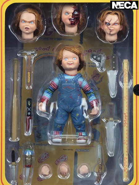 Neca Child's Play Ultimate Chucky 7 Inch Scale Action Figure