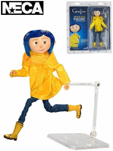 Neca Coraline in Raincoat Articulated Figure