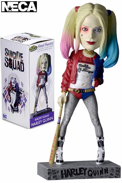 Neca DC Suicide Squad Movie Harley Quinn Resin Head Knocker