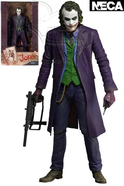 Neca DC Batman The Dark Knight The Joker 18 Inch Figure