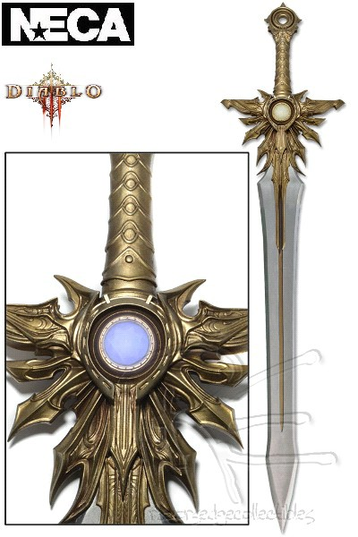 Neca Diablo III El'Druin, The Sword of Justice Prop Replica