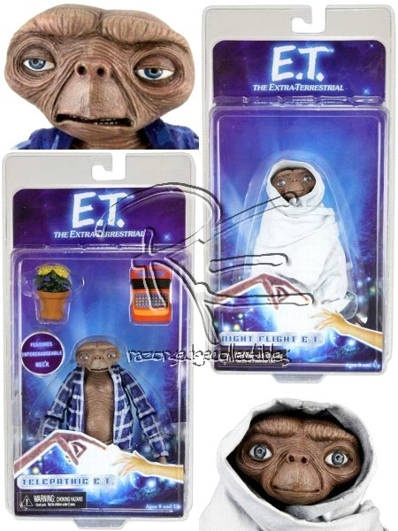 Neca E.T. Series 2 Action Figure Set of 2 Figures