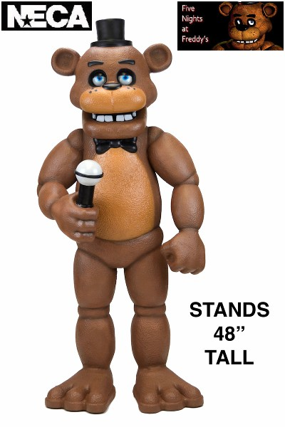 Neca Five Nights at Freddys Large Scale Freddy Foam Figure