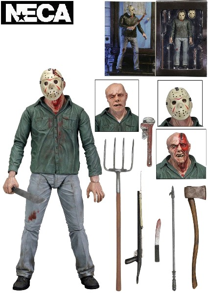 Neca Friday the 13th Part 3 Ultimate Jason Voorhees Figure