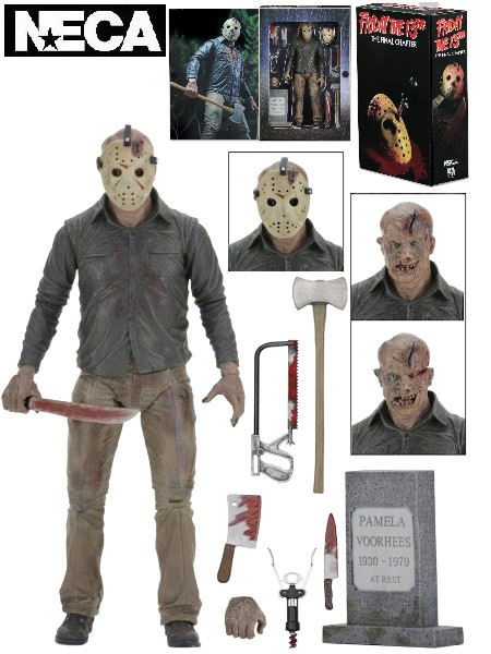 Neca Friday the 13th Part 4 Ultimate Jason Voorhees Figure