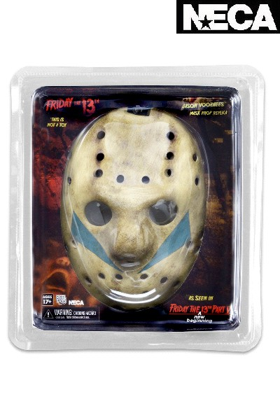 Neca Friday the 13th Part 5 A New Beginning Jason Mask Replica