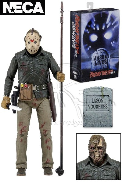 Neca Friday the 13th Part 6 Ultimate Jason Voorhees Figure