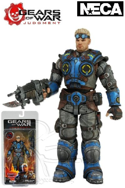 Neca Gears of War Judgment Damon Baird Action Figure