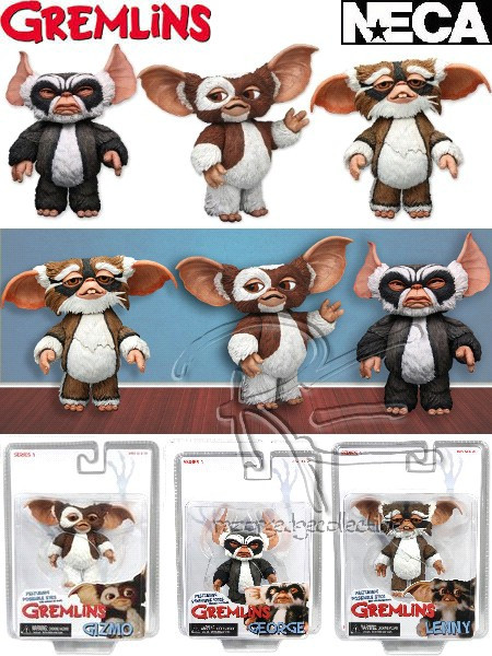Neca Gremlins Mogwais Series 1 Action Figure Set of 3