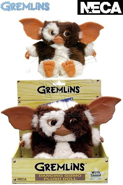 Neca Gremlins Musical Dancing Gizmo Plush Doll with Sound