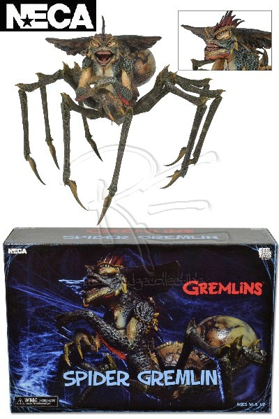 Neca Gremlins 2 The New Batch Spider Gremlin Action Figure