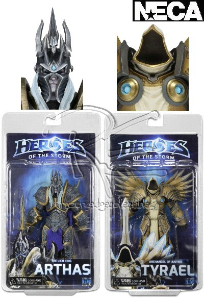 Neca Heroes of the Storm Series 2 Action Figure Set of 2 Figures