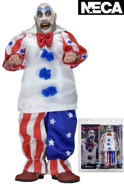 Neca House of 1000 Corpses Captain Spaulding 8 Inch Figure