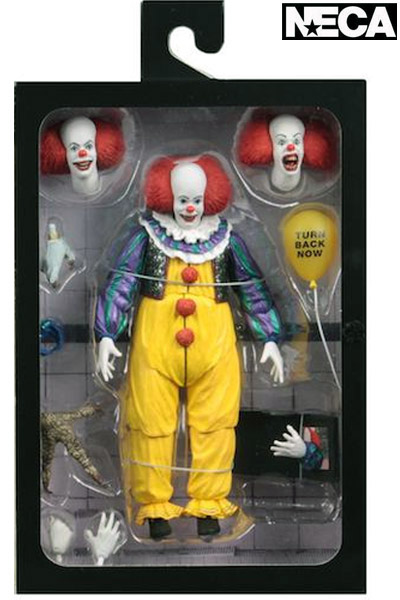 Neca It 1990 Movie Pennywise Version 2 Ultimate Action Figure