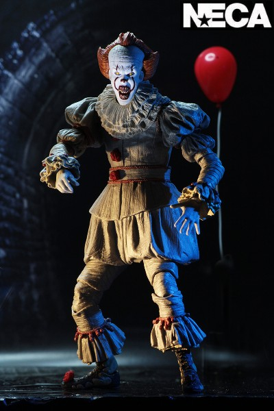 Neca It 2017 Movie Pennywise Ultimate Action Figure