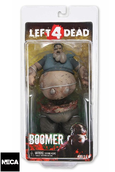 Neca Left for Dead Boomer Deluxe 7 Inch Scale Action Figure