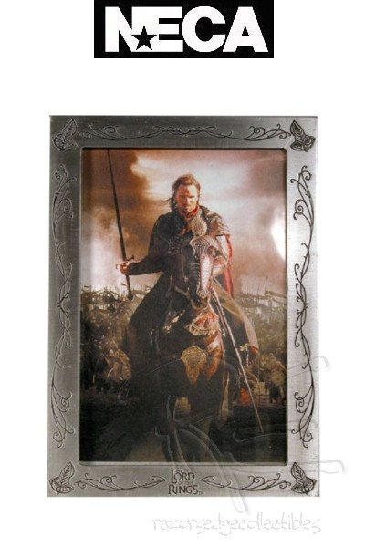 Neca The Lord of the Rings Aragorn Pewter Picture Frame
